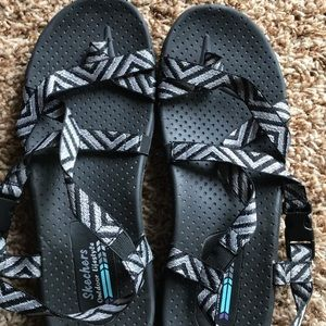 Sketches woven sandals